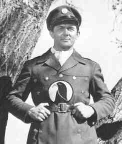 Kirk Alyn as Blackhawk in the Columbia serial